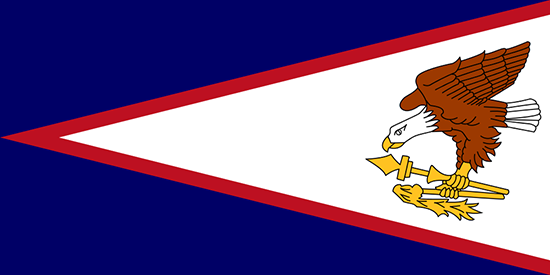 米領サモア国旗