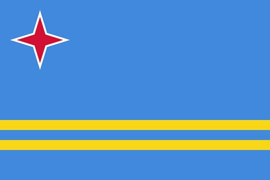 アルバ国旗