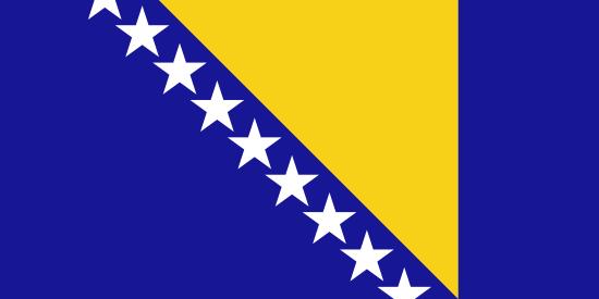 ボスニア・ヘルツェゴビナ国旗