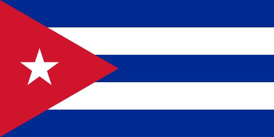 キューバ国旗