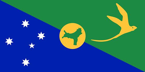 クリスマス島国旗