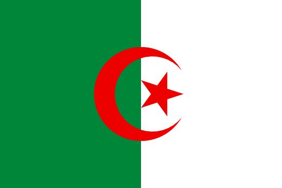 アルジェリア国旗