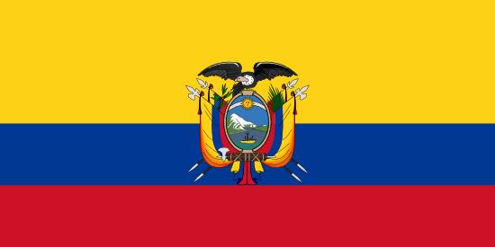 エクアドル国旗