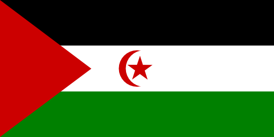 西サハラ国旗