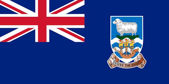 フォークランド 国旗