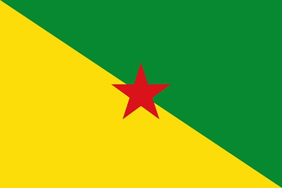 フランス領ギアナ国旗