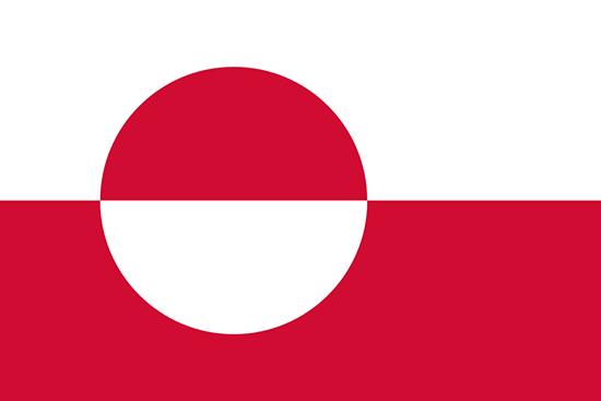 グリーンランド国旗
