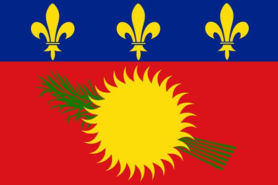 グアドループ国旗