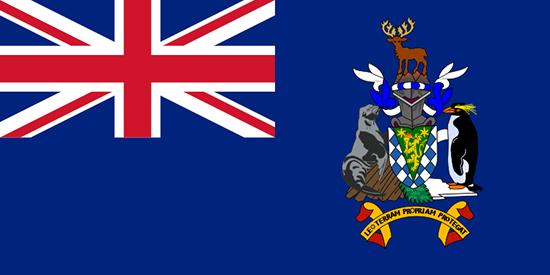 サウスジョージア・サウスサンドウィッチ諸島国旗