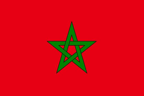 モロッコ国旗