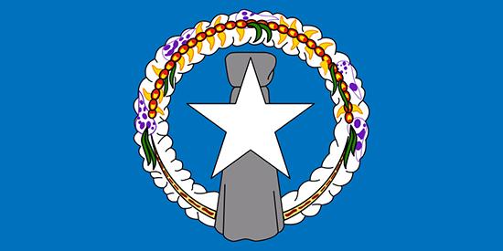 北マリアナ諸島国旗