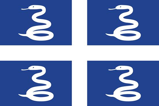 マルチニーク島国旗