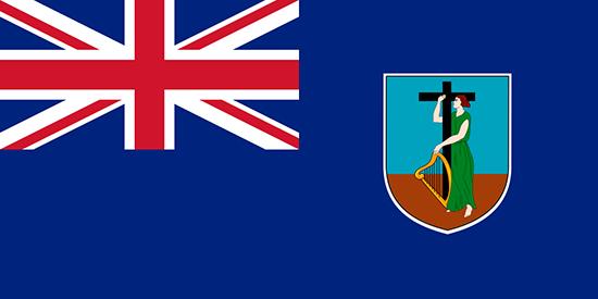 モンセラット国旗