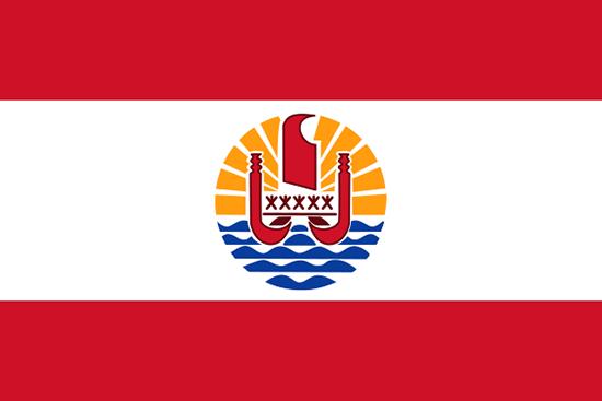 フランス領ポリネシア国旗