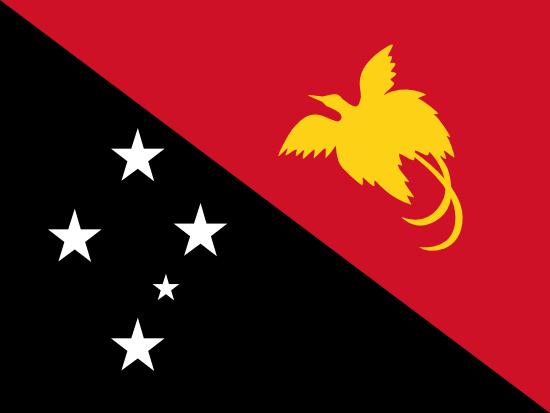 パプアニューギニア国旗