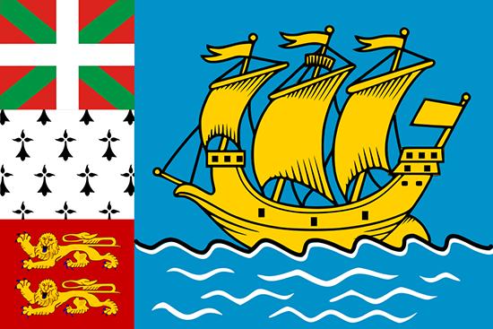 サンピエール・ミクロン国旗