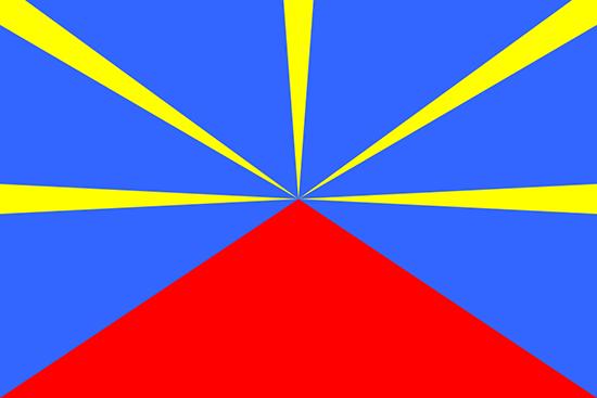 レユニオン国旗