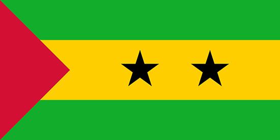 サントメ・プリンシペ国旗