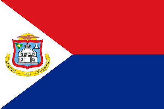 セント・マーチン島国旗