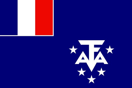 フランス領南極地方国旗