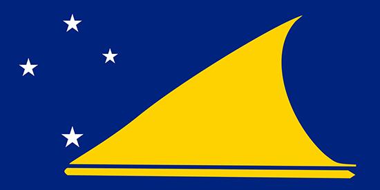 トケラウ諸島国旗