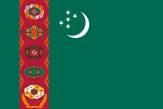 トルクメニスタン国旗