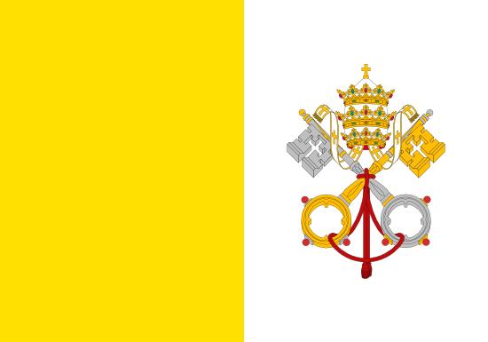 バチカン市国旗
