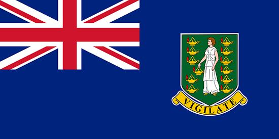 英領バージン諸島国旗