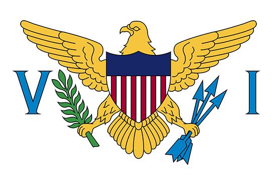 米領バージン諸島国旗